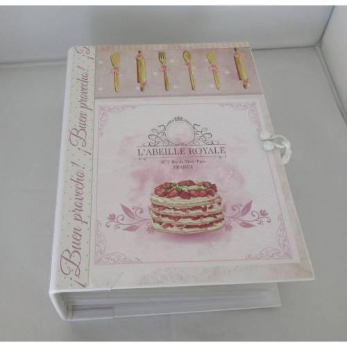 Kochbuch Album Rezepte Buch