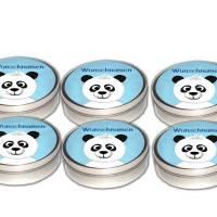 Set 6 Dose Panda, Kindergeburtstag Mitgebsel Giveaway, Gastgeschenk Bild 1