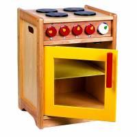 Kinderherd, Kinderküchenzubehör aus Holz, Herd aus Holz Bild 1