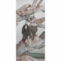 Ohrhänger Rabenvögel keltisches Design mit Knotwork passend zur Kette im Shop  Bild 1