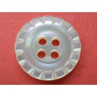 kleine Perlmuttknöpfe weiß 13mm (1331) Knöpfe Bild 1