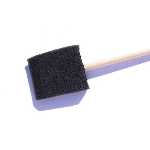 Flächenpinsel roh 50 x 68 mm Schaumstoff