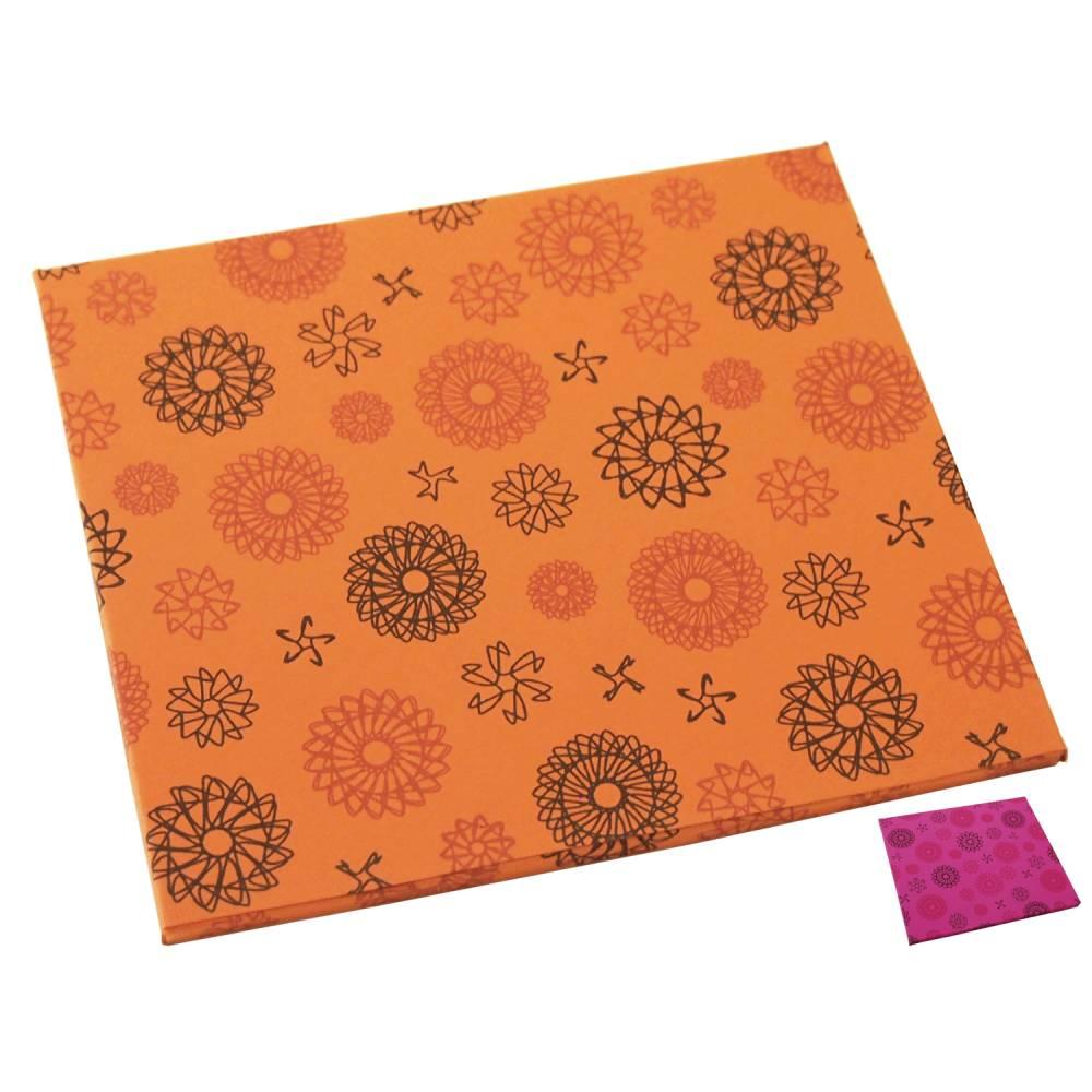 CD Geschenkverpackung, CD Geschenkhülle, Räder-Muster Bild 1