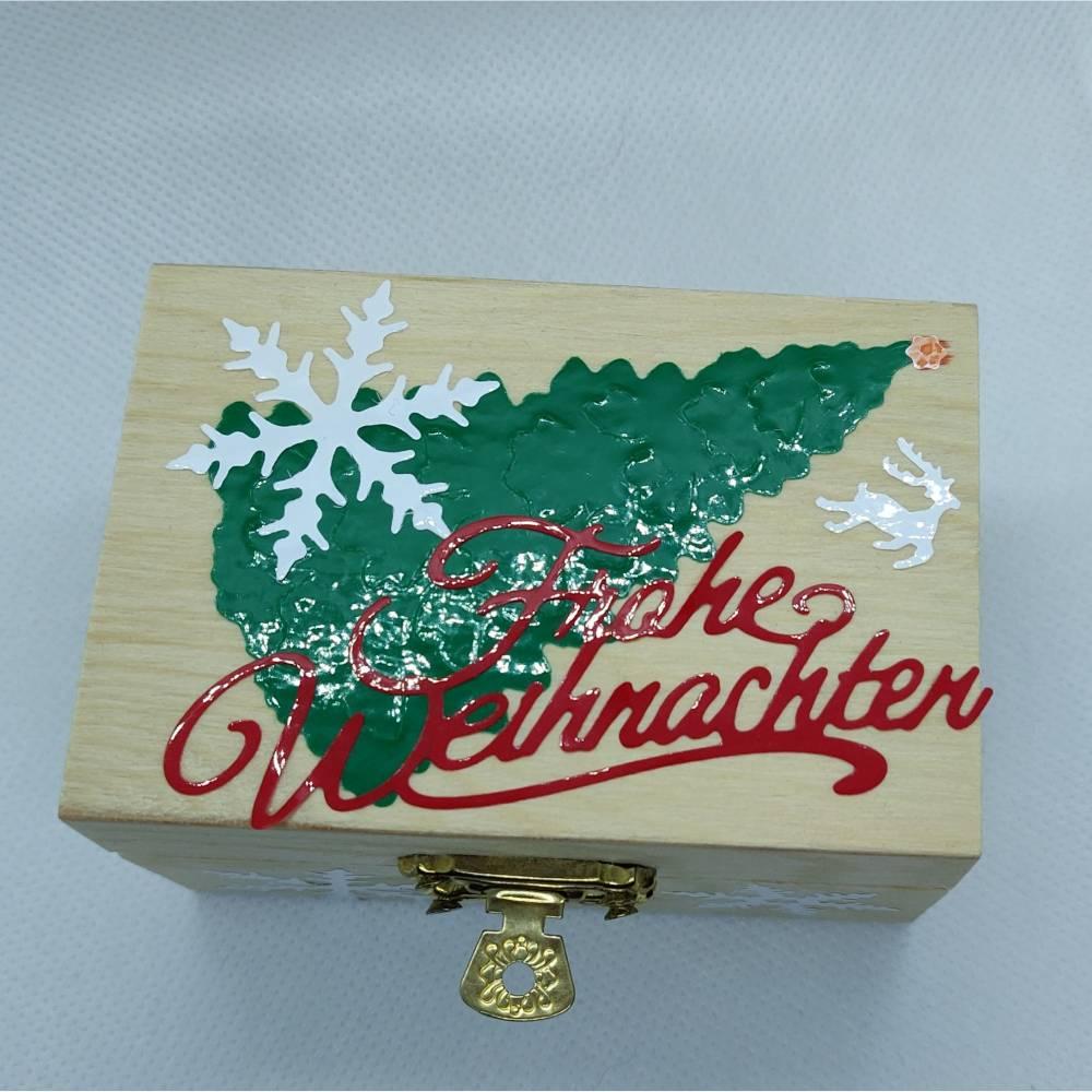 Geschenkverpackung für Geldgeschenk zu Weihnachten Bild 1