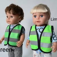 Warnweste für Puppen und Teddys 40-45 cm, Sicherheitsweste für Puppen, Freizeitweste für Puppen Bild 3