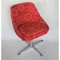 Vintage Sessel aus den 60er Jahren Blumenmuster Bild 1