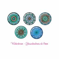 Glas Cabochon mit Motiv ab 8mm / Motivcabochon / Glass Cabochon / Material / Cabochonschmuck (1086) Bild 1