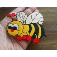 Grosse Biene    Patch zum Aufbügeln  Bild 1