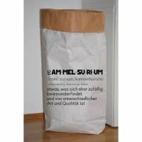 """Papiersack - Paperbag """"Sammelsurium"""" - zur Aufbewahrung von allem was gerade keinen Platz hat ;-)  Bild 1"""