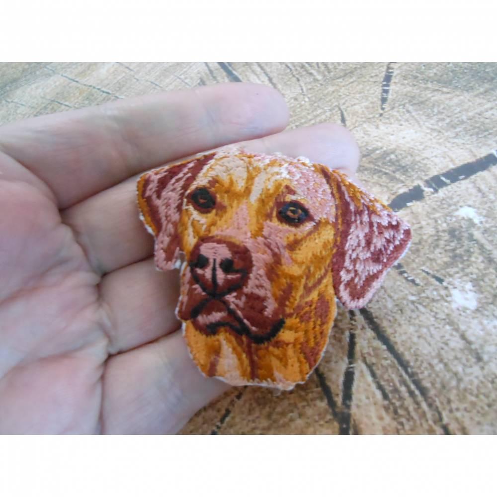 Rhodesian Ridgeback  Hund  Patch zum Aufbügeln  Bild 1