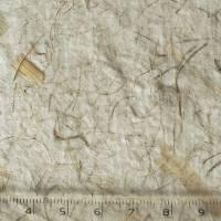 4 Blatt handgeschöpftes, cremeweißes Büttenpapier mit Pflanzenfasern, ca. 21 cm x 29,5 cm, ca. 140 g/qm, Naturpapier, Bastelpapier Bild 3