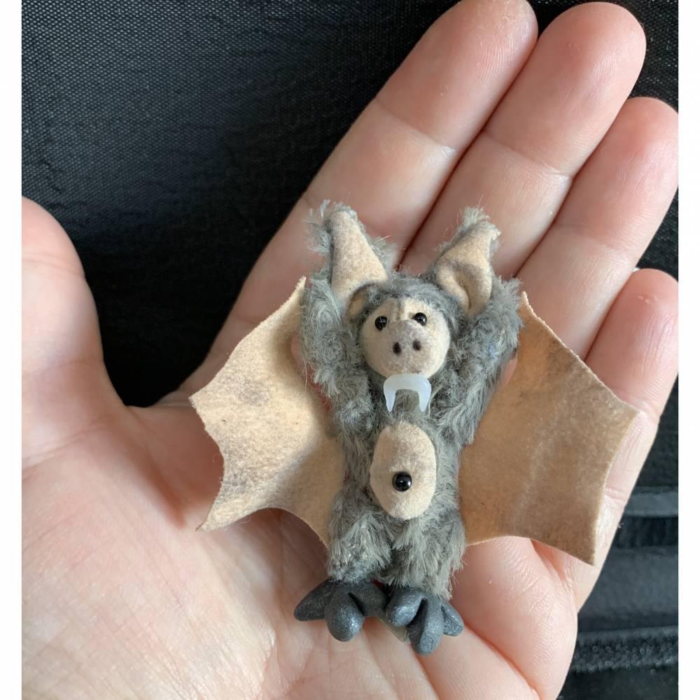 Bärino Fledermaus Baby Wanda 6 cm  Bild 1