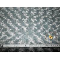 Meterware Minky traumhaft weicher Plüschstoff Fleece hochwertiger Microfaser-Plüsch Shannon Fabrics Rose Cuddle Silver Bild 1