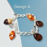 Herbstliche Armbänder, Kawaii, verschiedene Designs, Charms Bild 1