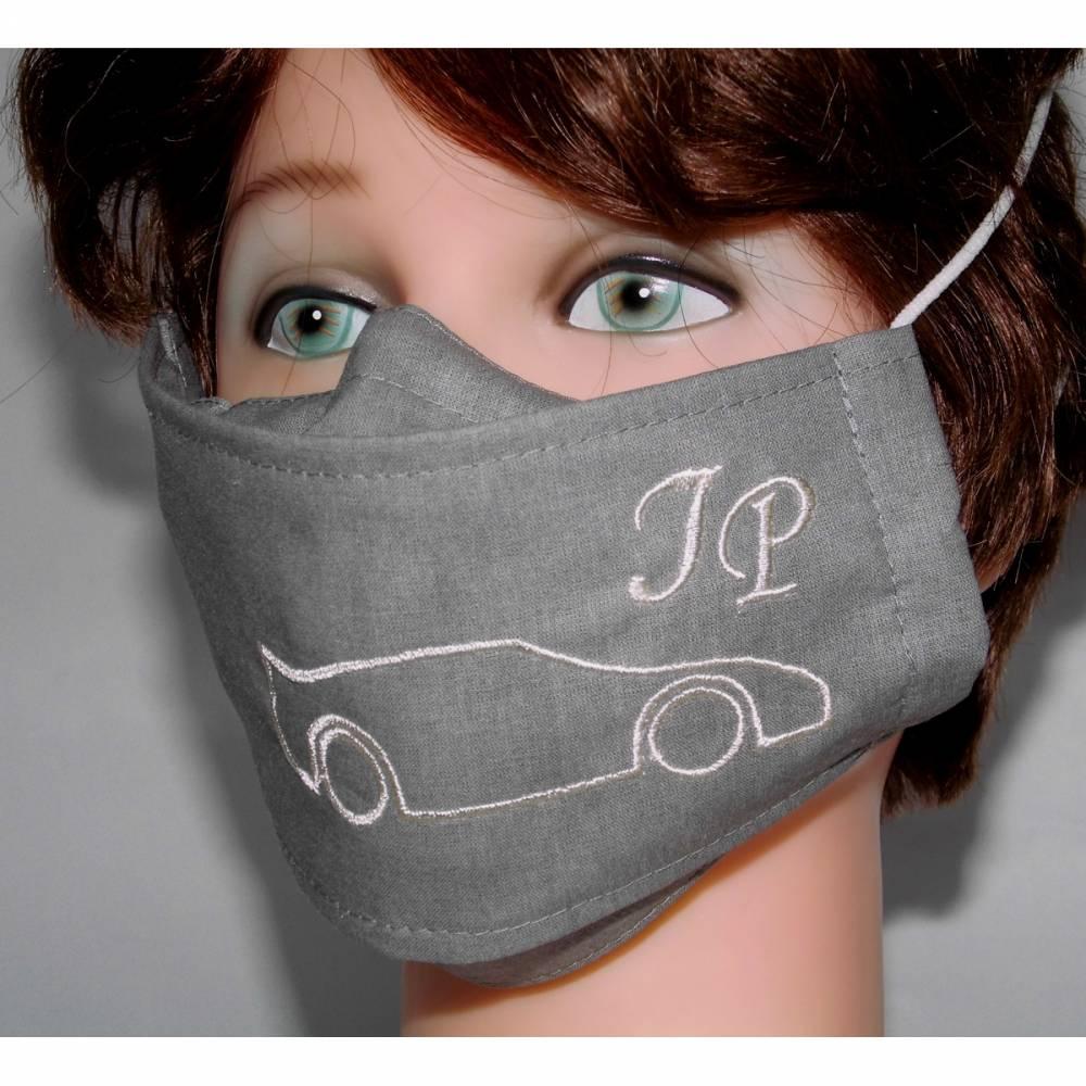 OP-Maskencover Porsche-Fans Stickerei Auto Monogramm Designer Mund-Nasen-Masken Businessmasken Damen Herren Kinder Bild 1