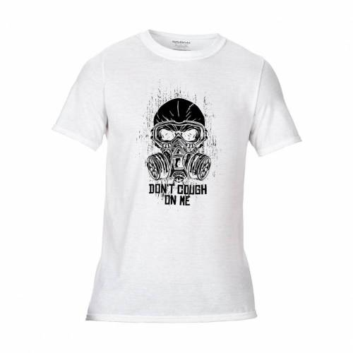 T-Shirt Zombie mit Gasmaske