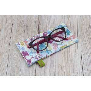 Brillenetui mit Schnappverschluss - Sonnenbrillen - Lesebrillen
