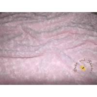 Meterware Minky traumhaft weicher Plüschstoff Fleece hochwertiger Microfaser-Plüsch Shannon Fabrics Rose Cuddle Ice-Pink Bild 1