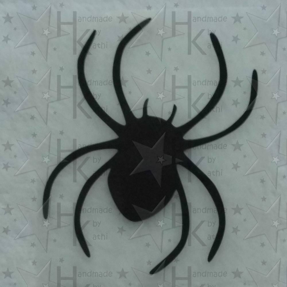 Bügelbild - Spinne / Spider (Halloween) - viele mögliche Farben Bild 1