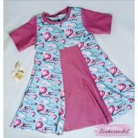 Kleid, Heißluftballons, Gr. 104 Bild 1
