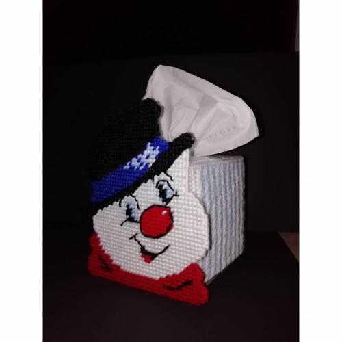 Schneemann Taschentuchbox