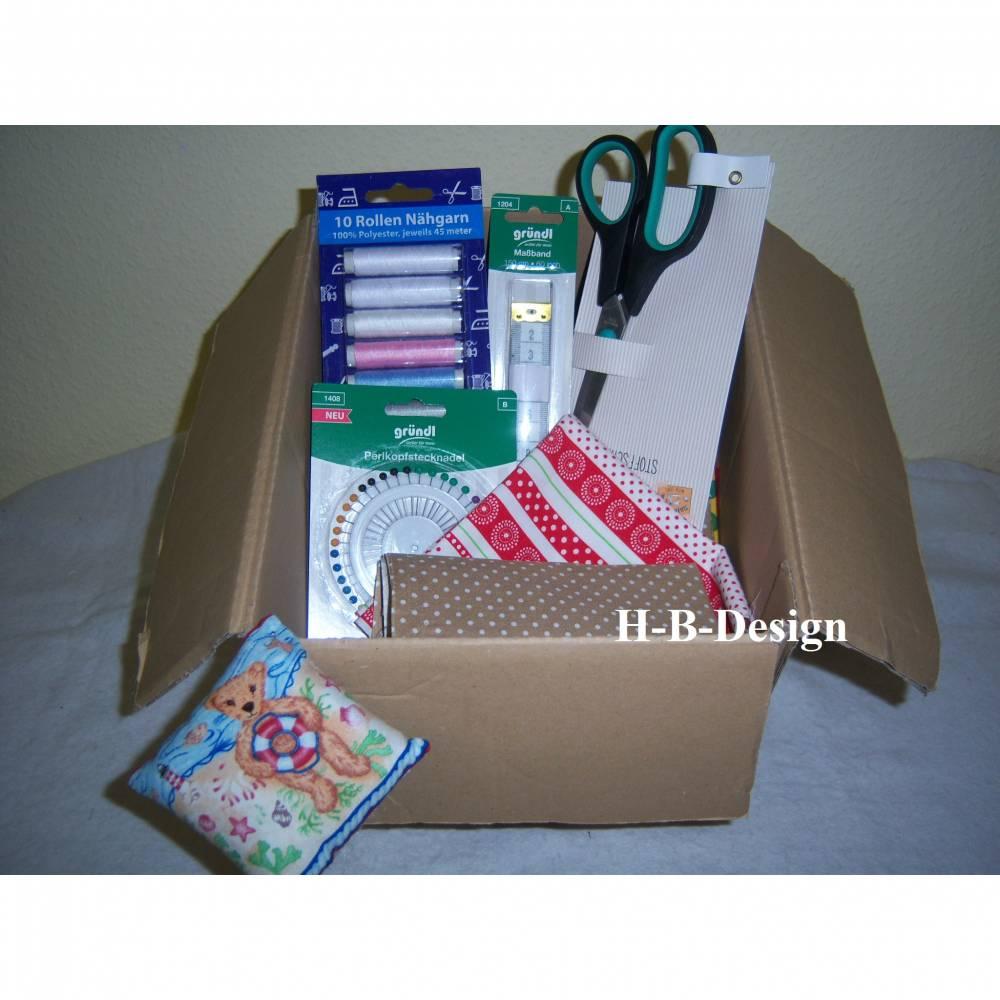 Diy-Material, Nähpaket-Nähutensilien-Geschenkidee-Starterpaket für Nähanfänger mit allen Materialien für den Einstieg,  Bild 1