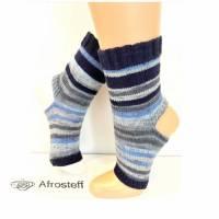 Yoga Socken, Pediküre Socken Gr. 38-40 mit Baumwolle Viskose Anteil Bild 1