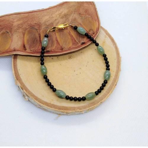 Smaragd Armband. Echte Natürliche Edelstein. Handarbeit Fairer Handel