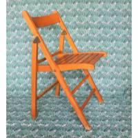 Vintage Klappstuhl aus Holz 60er Jahre Bild 1