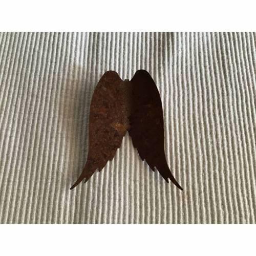 Rostige Engelsflügel, Engelsflügel rostig zum Basteln