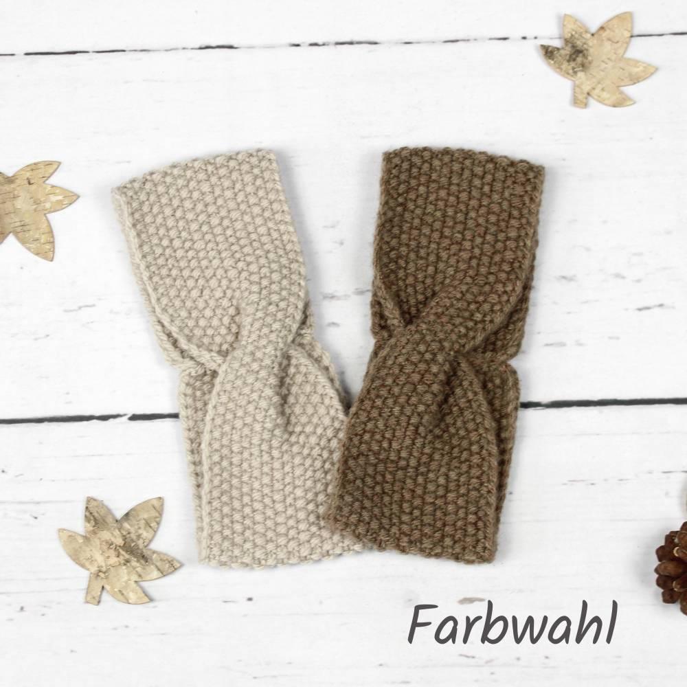 Gestricktes Stirnband ~ Twist | Herbst | Winter | Geschenkidee Bild 1