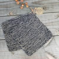 Topflappen gestrickt - 100% Baumwolle  Bild 1