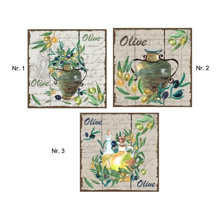 Fliesenaufkleber - Fliesenfolie - Olive - 13060 Bild 1