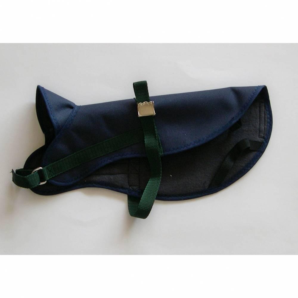 Hundebekleidung, Hundegeschirr, Regenschutz Hunde, Hundemantel, Regenmantel Hunde,  Regencape für Hunde, grün, blau, schwarz, Wunschfarbe Bild 1