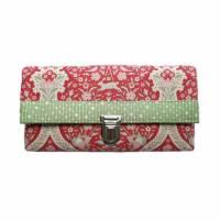 Geldbörse Portemonnaie Blumen Ornamente Bunny Pink - Miss Manny Maxi Bild 1