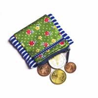 Kindergeldbörse für's Handgelenk, Upcycling, Pulstasche, Joggerbörse, Einschulungsgeschenk Bild 1