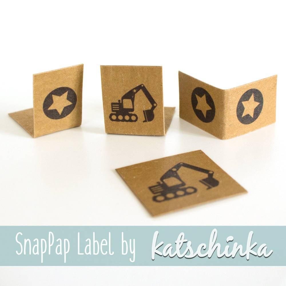 SnapPap Label Bagger (4 Stück), SnapPap Etiketten Bild 1