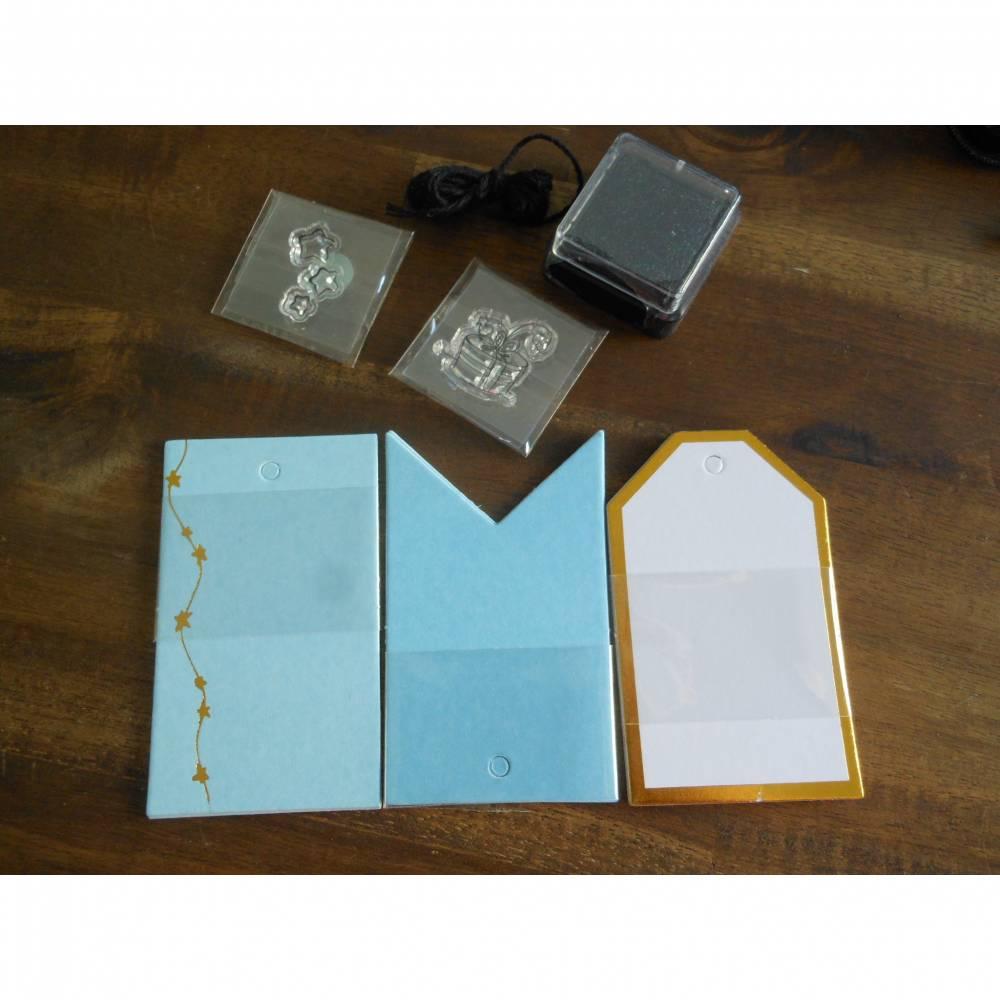 Verpackungsset für Geschenke mit Stempel  Bild 1