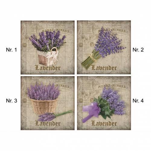 Fliesenaufkleber - Fliesenfolie - Lavendel  - 13066