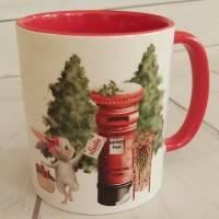 Tasse mit Weihnachtsmotiv Bild 1