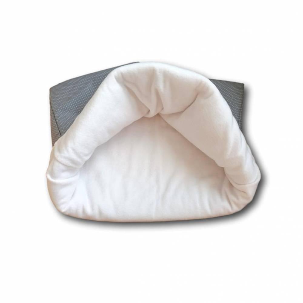 Kuschelsack, Schlafsack für Hunde grau Gr. S-L Bild 1