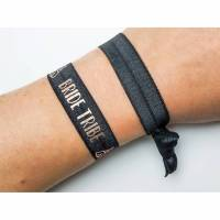 2er Set elastische Armbänder/Haargummis bride tribe Bild 1