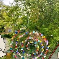 Fensterschmuck Sonnenfänger/Suncatcher Spirale in drei Größen zur Auswahl Bild 1