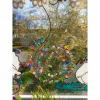 Fensterschmuck Sonnenfänger/Suncatcher Spirale in drei Größen zur Auswahl Bild 2