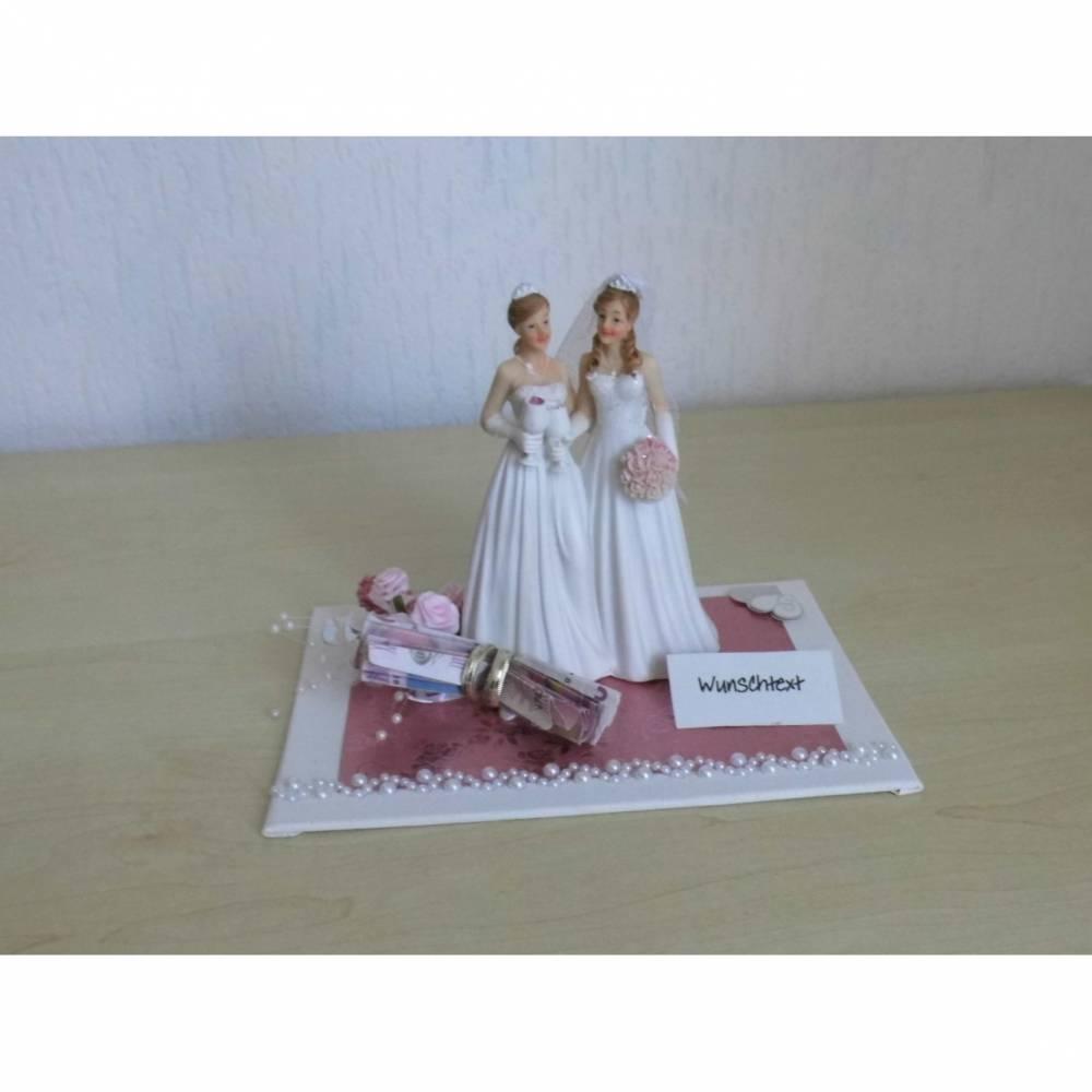 Hochzeit - Geldgeschenk - Frauenhochzeit lesbisch Frauen heiraten Bild 1
