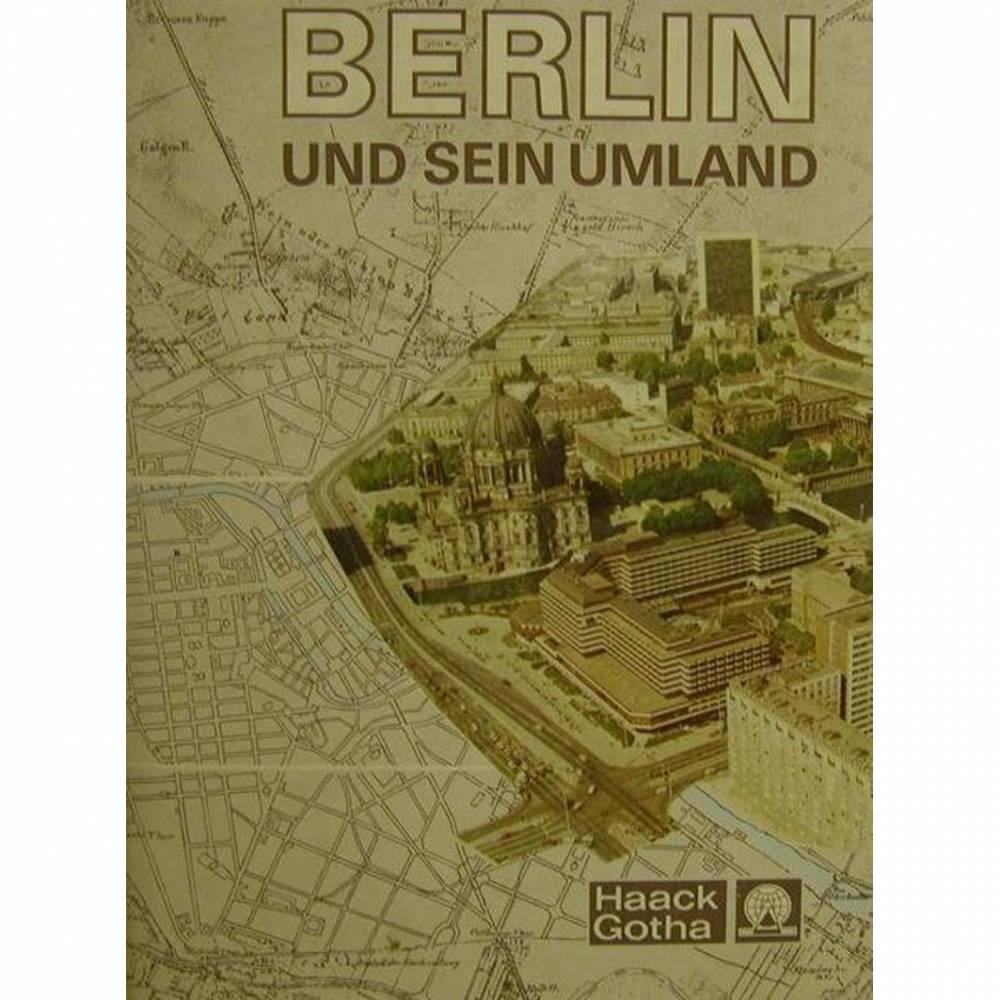 Berlin und sein Umland,eine geographische Monographie  Bild 1