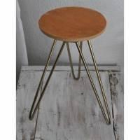 Gestell original Hairpin Legs Tisch Hocker DIY Bild 1