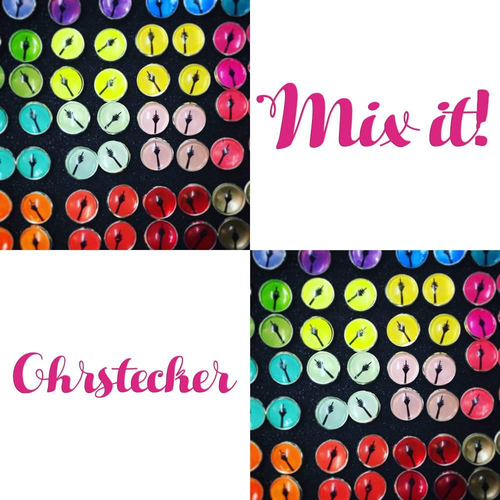 Rheinturm Mix it Ohrstecker  Bild 1