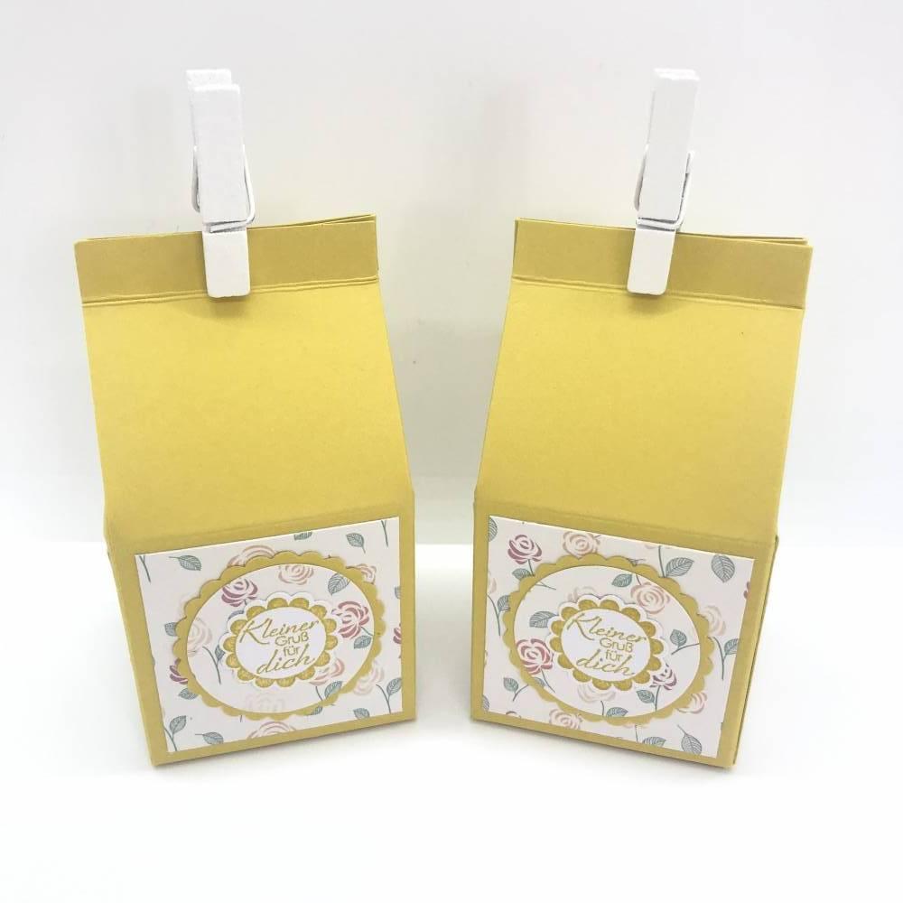 2er Set Mini Milchkartons Bild 1