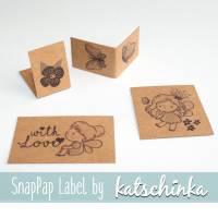 SnapPap Label FairyTales (4 Stück), SnapPap Etiketten, Labels // Katschinka Bild 1